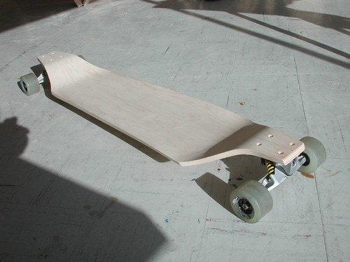 Two Inch Drop Deck | Ministry of Wood, Skateboard Builder Directory