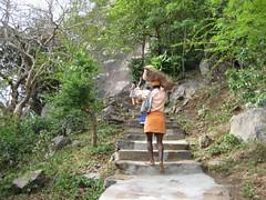 Carrying Abhisheha and annadhana items
