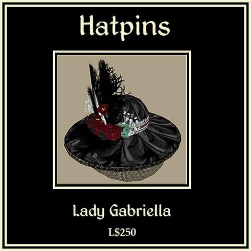 Lady Gabriella Hat