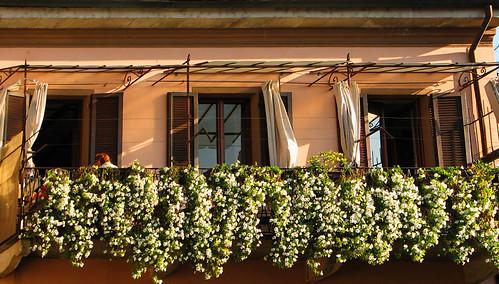 A beautiful balcony in Stresa by you.