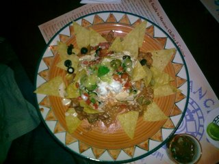 Nachos at Sanchos