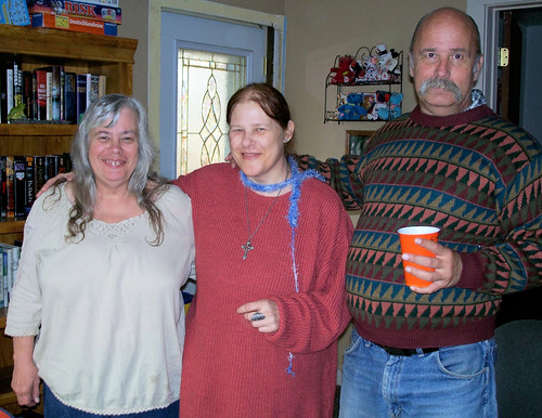 the mutchler siblings - aunt carol, mom and uncle mike
