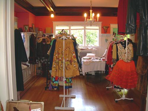 Vintage clothes sale