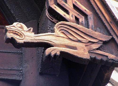 Stave Church Dragon