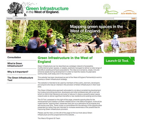 Green Infrastructure in the West of England