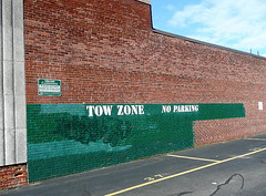 Tow Zone - No Parking