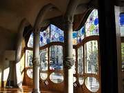 Antoni Gaudi. Interior de la Casa Batllo. 1907.