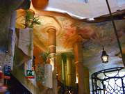 Antoni Gaudi. Interior de la Casa Milá (La Pedrera). 1912.
