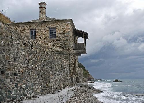 Building on NE Athonite seaside