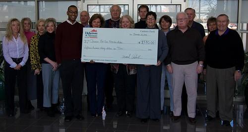 Dickerson & Nieman Check Presentation 11.26.2008