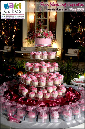Wedding Cupcakes Maki Cakes