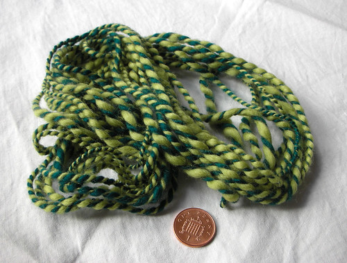 First Handspun and Penny