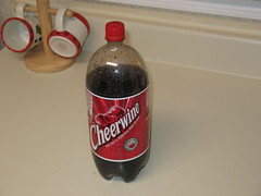 Cheerwine bottle from the store