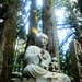 Divine statue - Okunoin cemetary