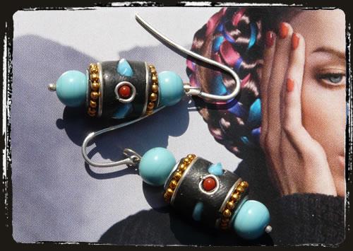 Orecchini Kashmir - Kashmir earrings ARHITKA