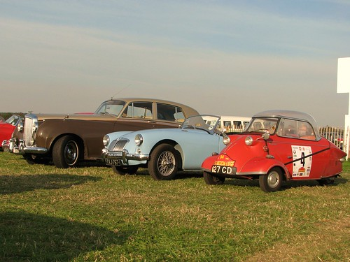 Bentley, MGA and Messerschmitt