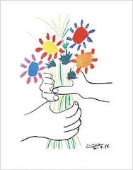 Manos con flores (Picasso)