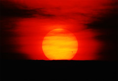 Sunrise with Transit of Venus