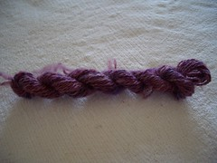 Ixchel Angorino Lace sample
