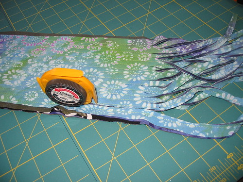 cutting chenille channels