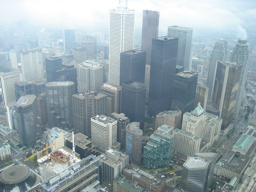 View from Lookout Deck, CN Tower