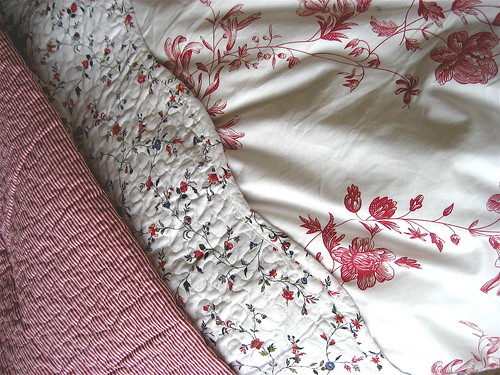 my new sheets.