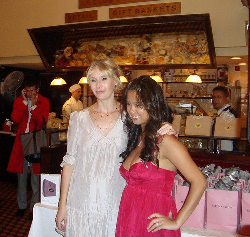 Rebecca Taylor and Mina Jacqueline Au