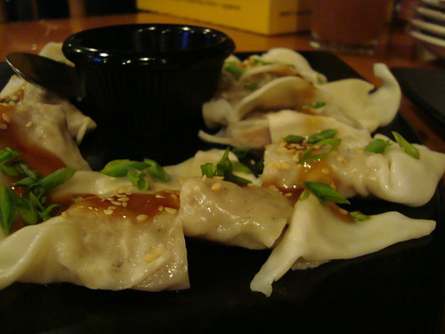 Sesame Ginger Chicken Dumplings by CPK