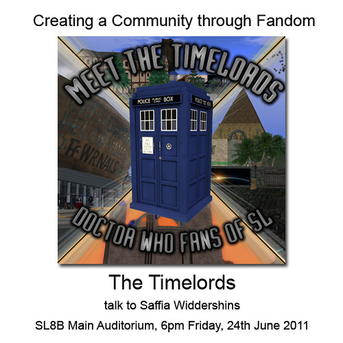 Creating Communities: Meet the Timelords