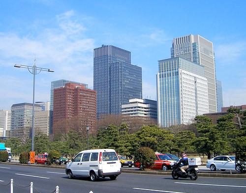 Mi primer vistazo al tráfico en Tokio