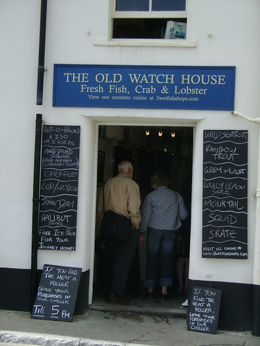 The Old Watch House , Fresh Fish, Crab & Lobster