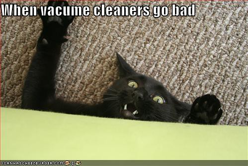 when vacuum cleaners go bad