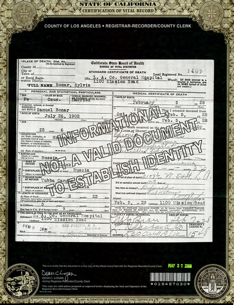 Sylvia Block Bonar-death certificate01.jpg