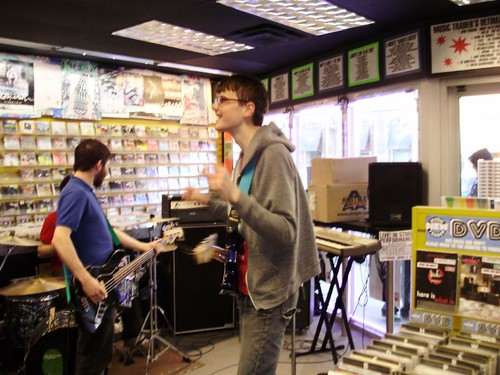 Durbervilles live! in-store performance at Music Trader on April 5 2008