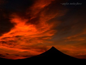 Mt. Mayon sunrise one August morning