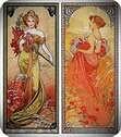Primavera y verano 1900. Alphonse Mucha.