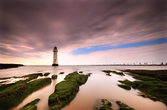 From East to West; New Brighton, The Wirral by Corica