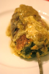 kabocha-stuffed poblano whole