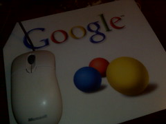 Souris Microsoft | Tapis Google !