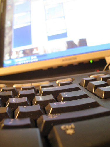 Keyboard and Monitor