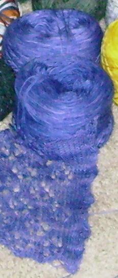 handpaintedyarn lace