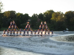 Big pyramid at Little Crow Ski Show