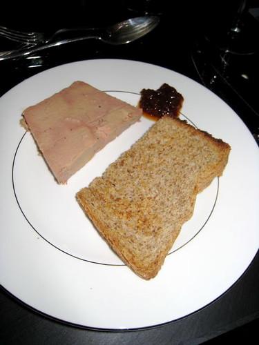 foie gras with fig chutney