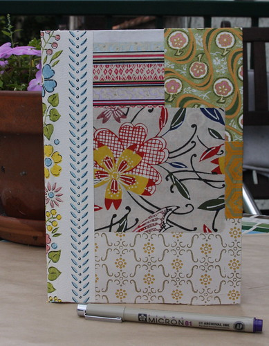 Patchwork Notebook Front