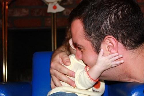 hug for daddy