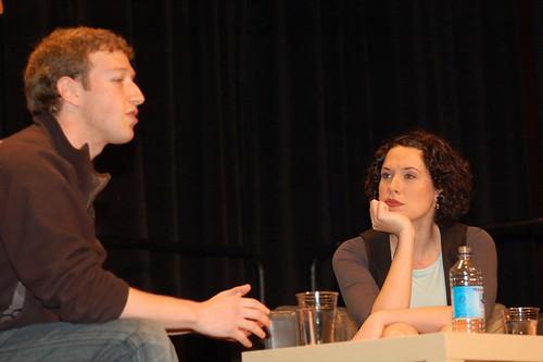 Mark Zuckerberg och Sarah Lacy