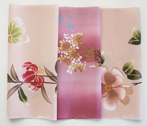 3 pack pink cottons