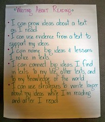 "Writing About Reading ""I Can"" Statements"