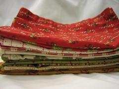 Set of 12 cloth napkins (set B)