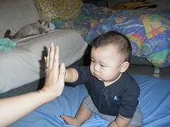 High 5 baby!